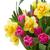 bos · tulpen · narcissen · vaas · roze · tulp - stockfoto © neirfy