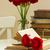 old books with red flower stock photo © neirfy