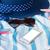 beach towel and seashells frame stock photo © neirfy