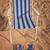 sandálias · verão · praia · azul · arenoso - foto stock © neirfy