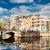 домах · Нидерланды · старые · канал · зеркало · Размышления - Сток-фото © neirfy