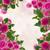 çerçeve · pembe · güller · mavi · bokeh - stok fotoğraf © neirfy