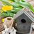 Paskalya · süslemeleri · sarı · lale · ahşap · yumurta · kabuğu - stok fotoğraf © neirfy
