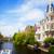 een · Amsterdam · holland · oude · binnenstad · voorjaar · dag - stockfoto © neirfy