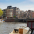 kanal · Amsterdam · lale · Hollanda · gökyüzü · su - stok fotoğraf © neirfy