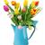 çiçekler · vazo · lâle · mavi · kartpostal · anneler - stok fotoğraf © neirfy