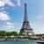 eiffel · tur · nehir · ağaç · Paris · Fransa - stok fotoğraf © neirfy
