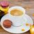 Noel · fincan · kahve · sabah · mutlu · soyut - stok fotoğraf © neirfy