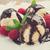 sorvete · xarope · branco · prato · comida · sorvete - foto stock © neirfy