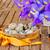 yumurta · paskalya · yumurtası · Paskalya · sarı · şerit · ahşap · masa - stok fotoğraf © neirfy