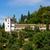 alhambra · Spagna · mondo · giardino · blu · castello - foto d'archivio © neirfy