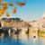katedry · most · rzeki · kwiaty · Rzym · Włochy - zdjęcia stock © neirfy