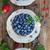 frescos · frambuesa · hojas · hojas · verdes · aislado · blanco - foto stock © neirfy