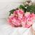 rozen · vintage · stoel · boeket · roze · beige - stockfoto © neirfy