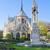 ノートルダム大聖堂 · パリ · フランス · 教会 · 空 · 夏 - ストックフォト © neirfy