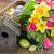 boeket · tulpen · narcissen · vers · roze · Geel - stockfoto © neirfy