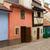renkli · evler · Prag · tipik · kırmızı · çatılar - stok fotoğraf © neirfy