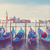 gondolas floating in the grand canal venice stock photo © neirfy