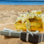 pile of christmas gifts on beach stock photo © neirfy