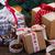 presentes · saco · colorido · natal - foto stock © neirfy