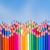 crayons · différent · couleurs · blanche · Retour - photo stock © neirfy