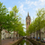 old town of delft in spring holland stock photo © neirfy