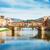 köprü · nehir · Floransa · gece · Retro - stok fotoğraf © neirfy