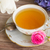 antique cup of tea with flowers stock photo © neirfy