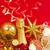 złoty · vintage · christmas · piłka · dolny · szampana - zdjęcia stock © neirfy