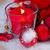 kaars · christmas · Rood · decoraties · partij - stockfoto © neirfy