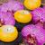 spa · therapie · evenement · brandend · kaarsen · orchideeën - stockfoto © neirfy