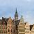 kép · Belgium · esős · szürkület · kék · óra - stock fotó © neirfy