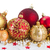 Noel · sınır · süslemeleri · beyaz · madeni · asma - stok fotoğraf © neirfy