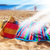 towel and basket on sandy beach stock photo © neirfy