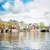 Blauw · brug · Amsterdam · rivier · Nederland · stad - stockfoto © neirfy