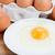 organisch · eieren · witte · plaat · houten · tafel - stockfoto © neirfy