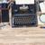 escritor · jornalista · vintage · área · de · trabalho · máquina · de · escrever · câmera - foto stock © neirfy