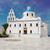 the orthodox church in oia santorini stock photo © neirfy