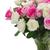 buquê · fresco · rosas · rosa · branco - foto stock © neirfy