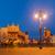 Polonya · krakow · pazar · kare · gece · eski - stok fotoğraf © neirfy