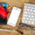 кредитные · карты · мобильного · телефона · бизнеса · бумаги · письме - Сток-фото © neirfy