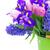 チューリップ · ピンク · 青 · 花 · 庭園 · ぼけ味 - ストックフォト © neirfy