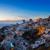 falu · éjszaka · Santorini · házak · Görögország · égbolt - stock fotó © neirfy
