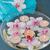 brandend · kaarsen · roze · orchidee · bloemen · spa - stockfoto © neirfy
