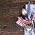 día · de · san · valentín · cena · vintage · plata · cubiertos · frescos - foto stock © neirfy