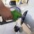 posto · de · gasolina · bombear · enchimento · gasolina · verde · carro - foto stock © neirfy