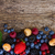background of fresh berries stock photo © neirfy