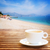 férias · de · verão · copo · ilustração · magia · água · areia - foto stock © neirfy