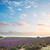 pôr · do · sol · verão · campo · de · lavanda · flor · nuvens · sol - foto stock © neirfy