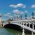 моста · закат · весны · Париж · Франция · цветы - Сток-фото © neirfy